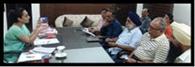 डीसी ने की एनजीओ से बैठक