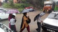 दाड़लाघाट में बारिश ने खोली प्रशासन की पोल