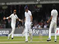 Stats of historical Lords test victory of India