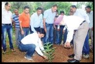 पर्यावरण बचाने के लिए पौधरोपण अति आवश्यक : धीमान