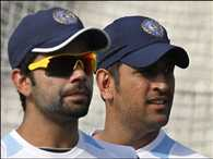 Dhoni and Virat skip nets before practise game against Middlesex