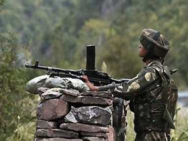 ceasefire violation by pakistan army in rs pura sector, jammu and kashmir