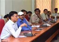 Disaster management workshop taking