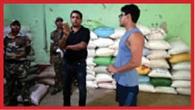 वजीरगंज थाना के पास के गोदाम से 524 बोरा सरकारी अनाज जब्त