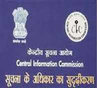 central information commission without cic from one month