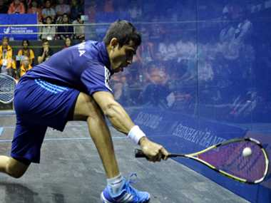 Saurav Ghosal becomes first Indians to enter Asiad squash final
