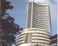 Sensex dips below 27k-level, falls 166 points on Asian cues