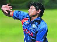 Chinamen bowler Kuldeep Yadav look for place in team India