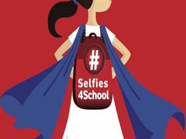 Channeling the 'selfie' for a social cause