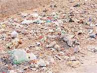 Lack of dustbin in Kathua