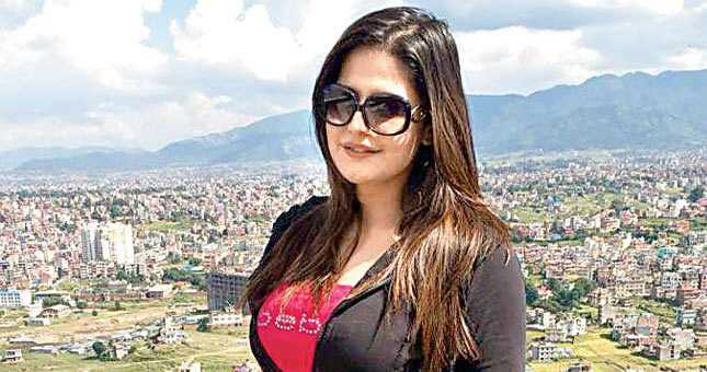 Zareen Khan took time off after a fashion show in Kathmandu to explore the landscape of Nepal