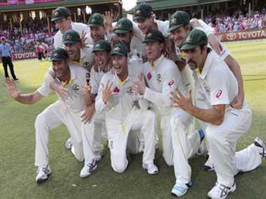 Australia eyes on number one test ranking