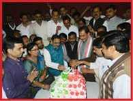 sp leaders celebrated Mulayam singh birthday