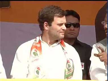 rahul gandhi in ranchi to address election rally