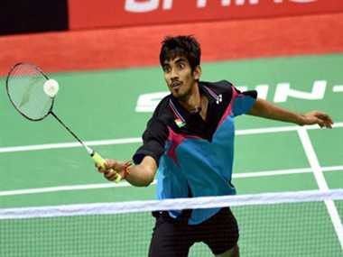 K. srikanth out of hong kong open super series