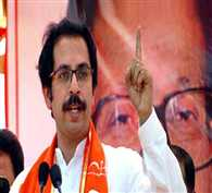 shivsena attacks on bjp on conversion