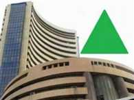 Sensex surges 330 points due to strong global cues