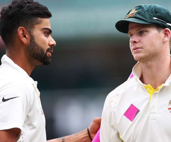 Australian skipper Steve Smith and Indian captain Virat Kohli both have different opinions on Pune pitch for first test match online hindi news