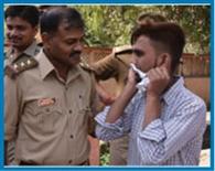 पुलिस ने सिखाया शोहदों को सबक