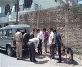 इलाहाबाद में थाने के पीछे बम धमाका, दो वाहन क्षतिग्रस्त