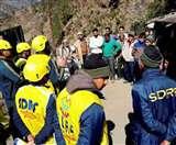 रुद्रप्रयाग में एसडीआरएफ ने राहत व बचाव के दिए टिप्स