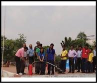 केवि-सलुवा में मनाया गया अग्नि सुरक्षा सप्ताह