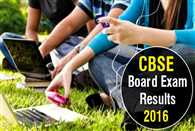 CBSE class10 results 2016 to be announced today