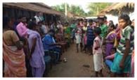शव पहुंचने पर गांव में मातमी सन्नाटा