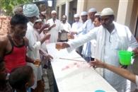 मुस्लिम समुदाय ने सुंदरकांड के पाठ के साथ कराया भंडारा