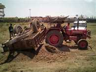 SDO Stop Mining, Trying to Crush By Tractor