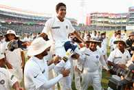 Anil Kumble was elected the new team india  coach