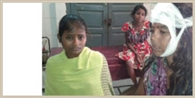 चचेरे भाई ने मां सहित तीन पुत्री को मारपीट कर किया अधमरा