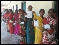 11 मतदान केंद्रों पर शांतिपूर्ण संपन्न हुआ चुनाव