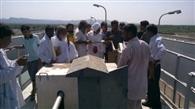 जल समझौते के विरोध में यमुना भक्तों ने खोले हथनीकुंड बैराज के कपाट