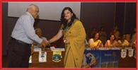 pritha dutta will lead Rotary club of jamshedpur Famina.