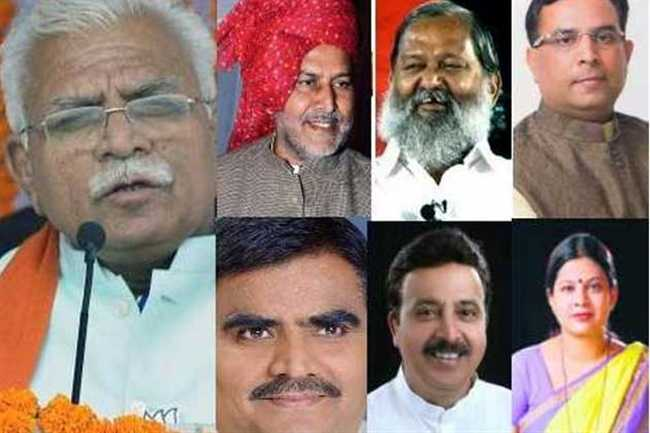 Cm Manohar Lal Expand his team