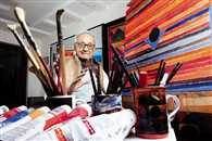 Artist S H Raza passes away on Saturday after prolonged illness