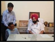 चीमा अस्पताल में कैंसर जांच कैंप आयोजित
