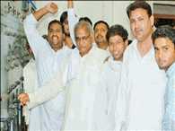 power cut in minister's mother muhalla in uttar pradesh