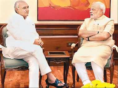 pm modi meets haryana cm hooda