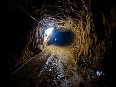tunnel found in kahud, security agency starts probe