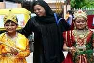janmashtami is celebrated with great zeal in the muslim village of rajasthan