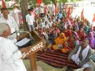 labours agitated against increasing crime