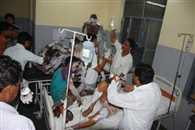 Gas cylinder explosion in UP kills six
