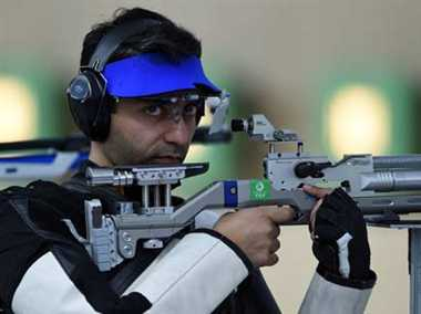 Bindra bags second bronze medal