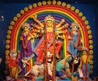 Shardiy Navratri: Bengali mother will wear sari somewhere, anywhere ...