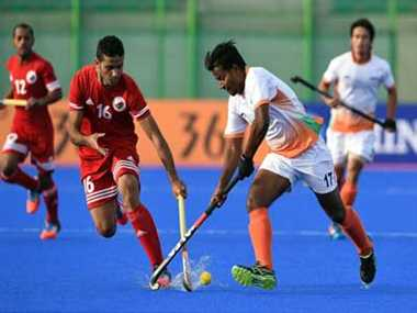 Unimpressive India manage 7-0 win against Oman in men's hockey
