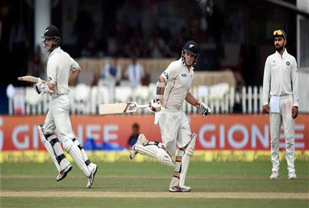 Latham and Williamson to play major role in third day of Kanpur test
