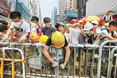 No end in sight for Hong Kong protests after talks