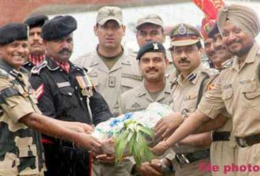 No sweets offered by BSF to Rangers on Diwali